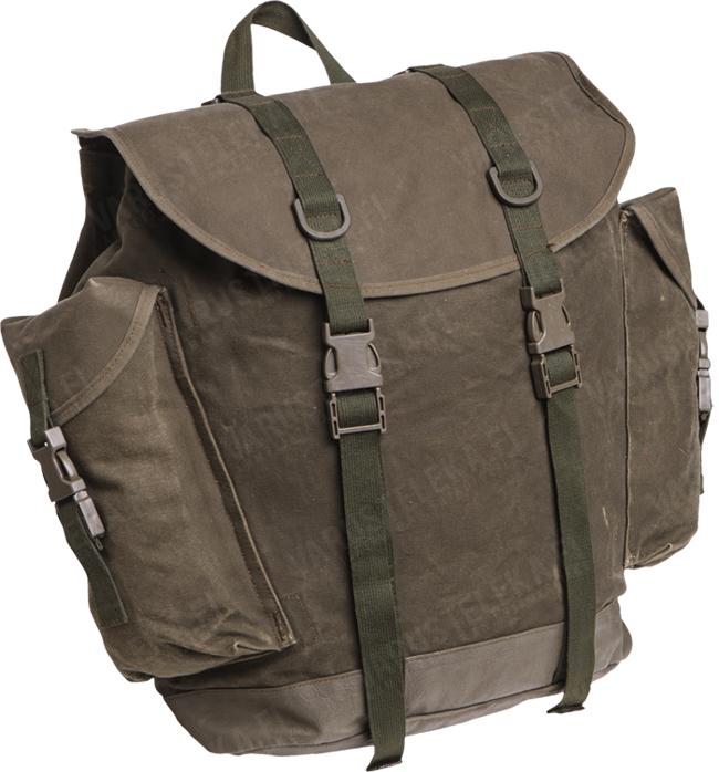 BW mountain troops rucksack, surplus