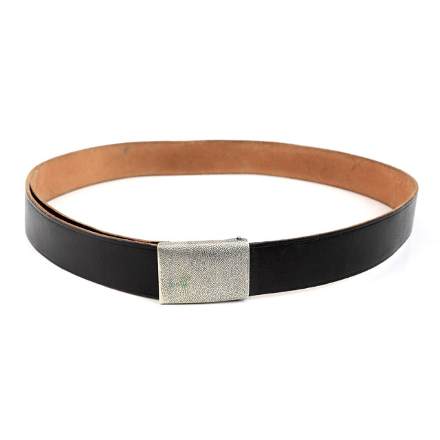 BW trouser belt, leather, surplus