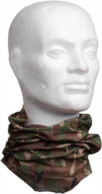 Multi Function Head Wrap, camouflage