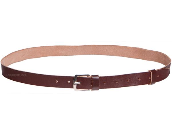 Czech trouser belt, leather, brown, surplus