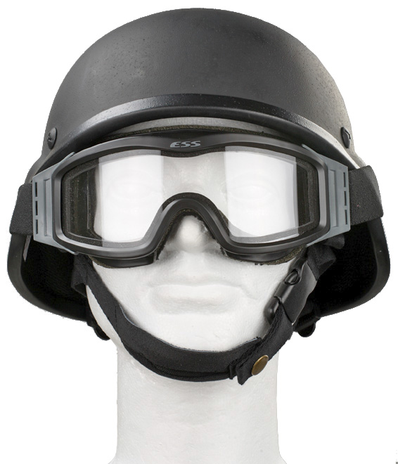 ESS Profile NVG protective goggles, black, with spare lens