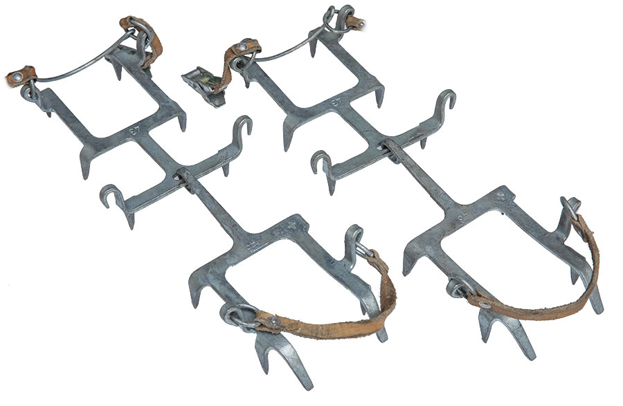Swiss crampons, surplus