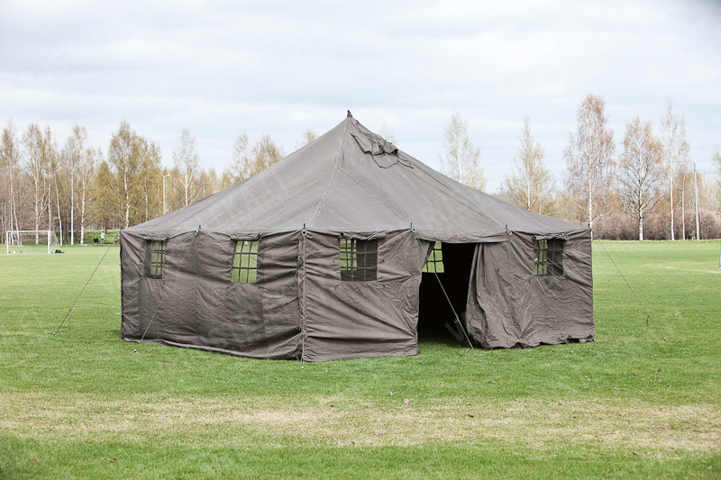 Large tent 480 x 480 x 320 cm with accessories & Large tent 480 x 480 x 320 cm with accessories - Varusteleka.com