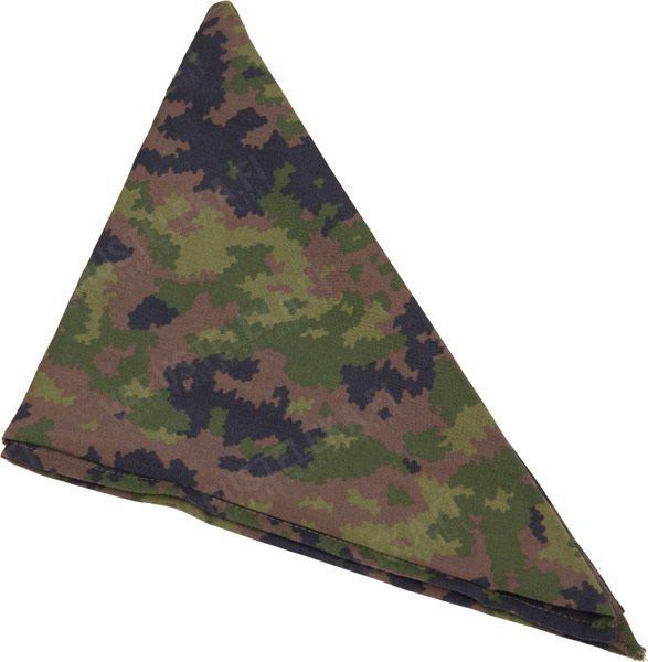 Russian triangular scarf, Jagel camo