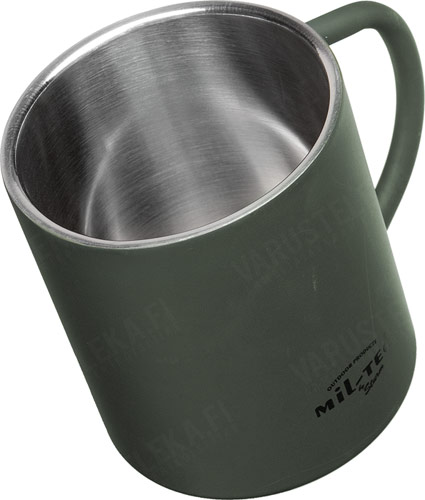 Mil-Tec thermos cup, 450 ml, olive drab