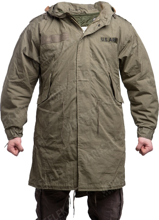 US M51 Fishtail Parka, with liner, reproduction - Varusteleka.com