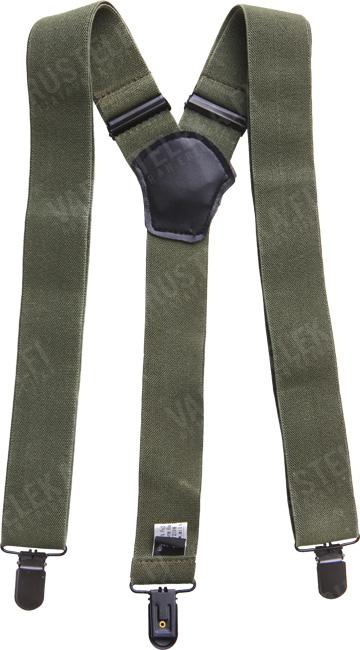 Mil-Tec trouser braces with clips