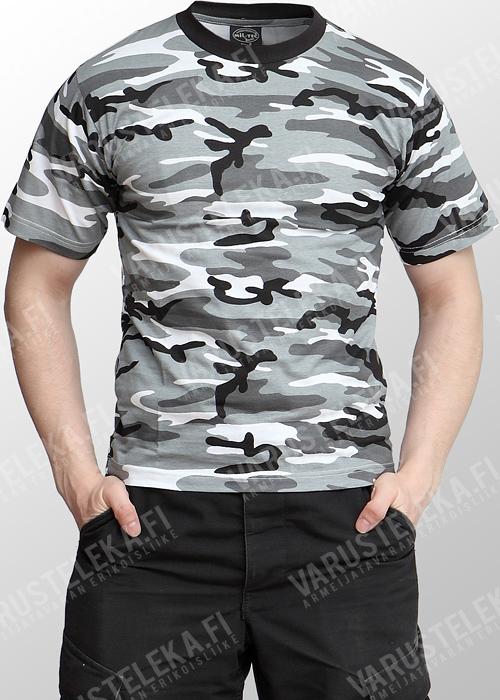 Mil-Tec T-shirt, Metro camo