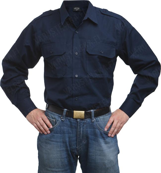 Mil-Tec service shirt, navy blue