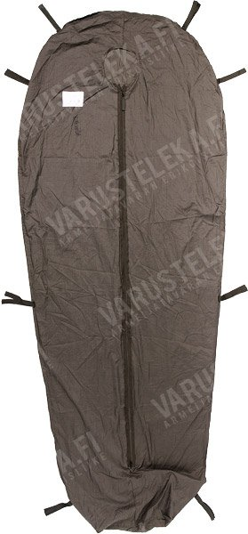 Dutch sleeping bag liner with zipper closure, used