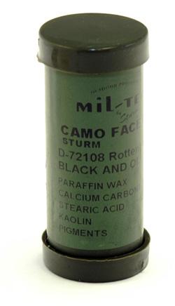 Mil-Tec face paint stick, black/green