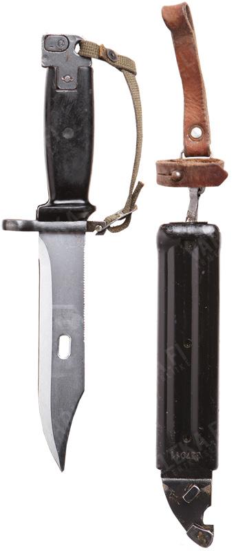 JNA M70/AKM genocide bayonet, surplus