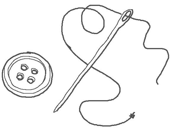 Sewing service, velcro patch for clothing or equipment
