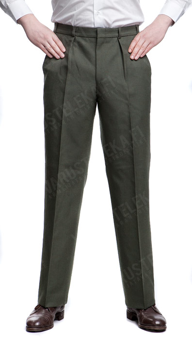Dutch parade trousers, olive drab, unissued