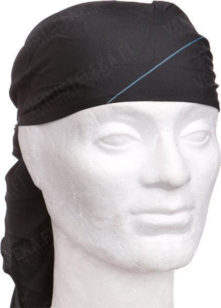 BW triangular scarf, black, surplus