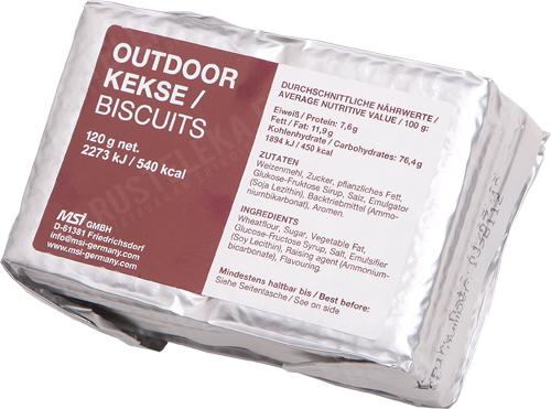 MSI Outdoor biscuits 120 g