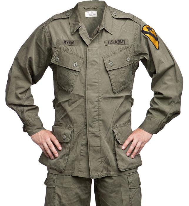 US jungle jacket, first pattern, repro