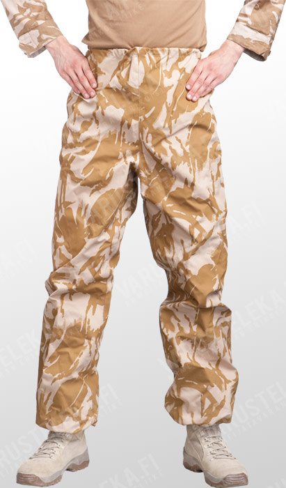 British MVP rain trousers, Desert DPM, surplus