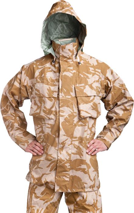 British MVP rain jacket, Desert DPM, surplus