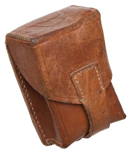 JNA ammunition pouch, leather, surplus