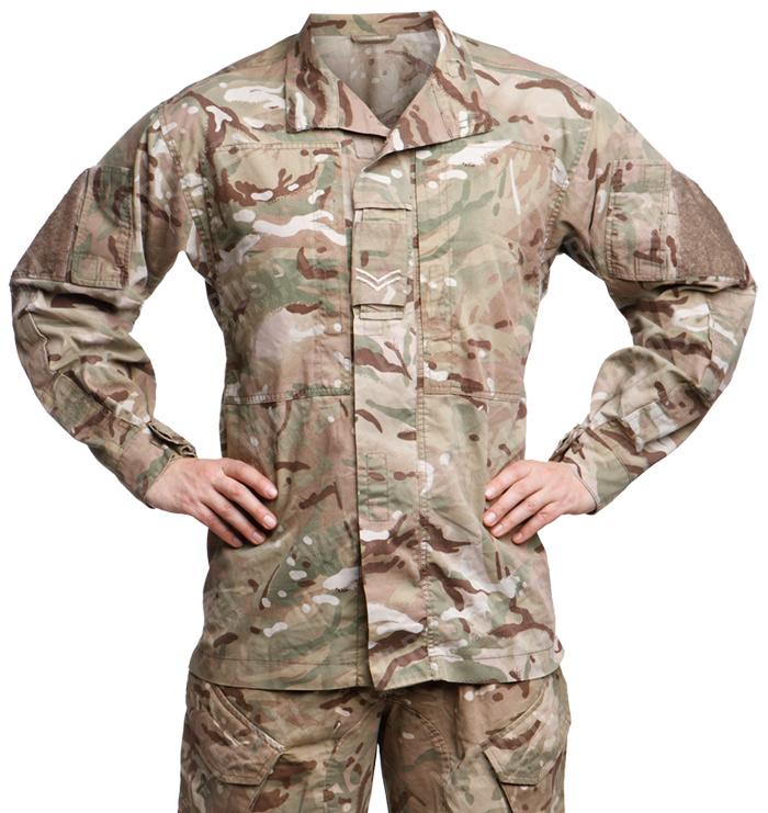 British PCS combat jacket, MTP, surplus