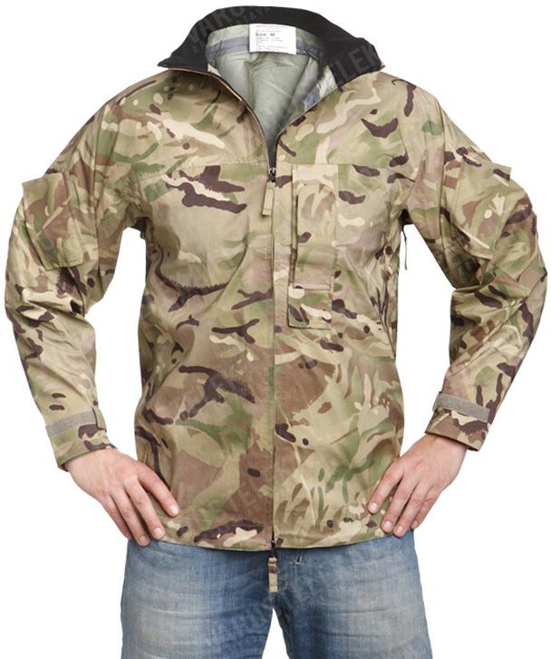 British MVP rain jacket, MTP, surplus