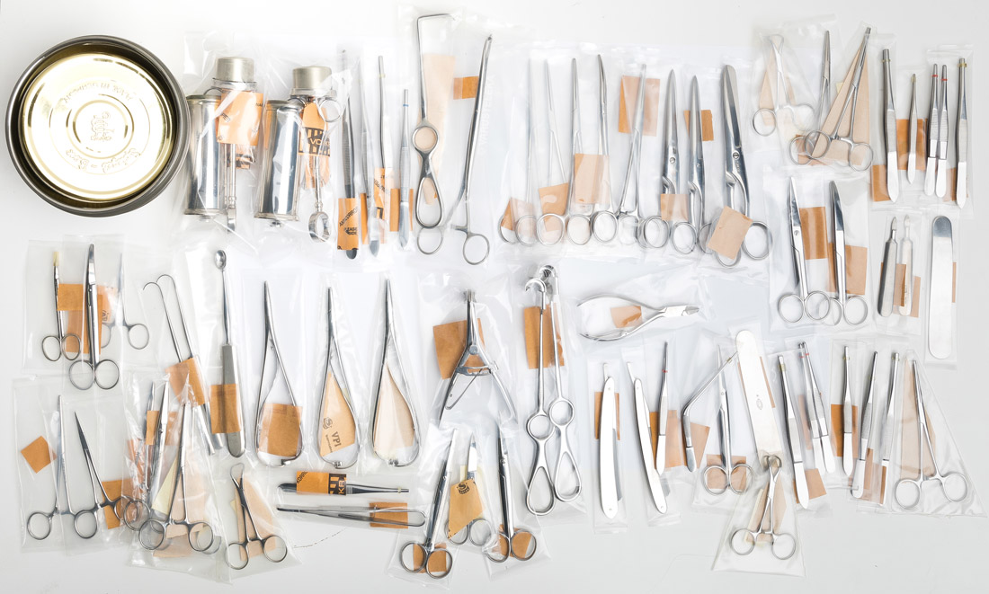 Swedish surgeon kit, surplus