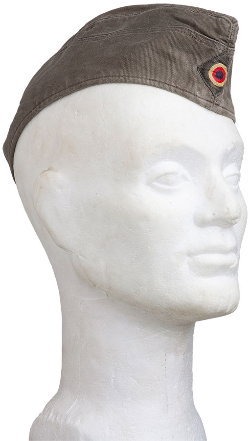 BW side cap, grey green, surplus