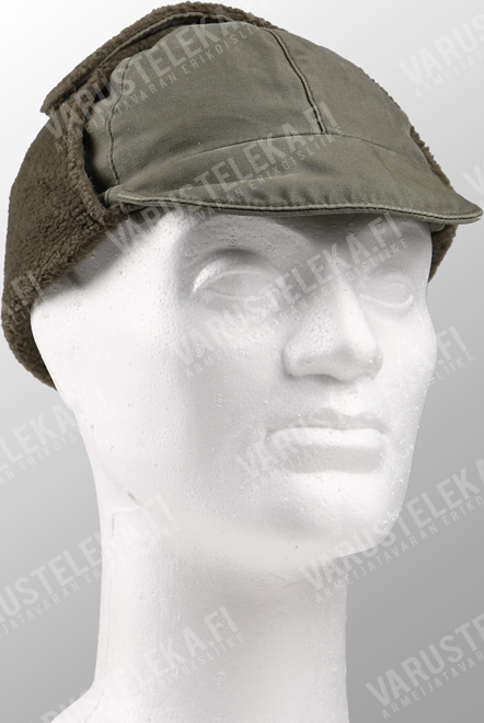BW field cap, cold weather, olive green, surplus