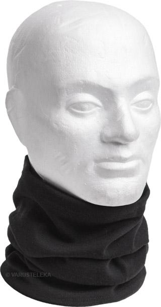 Särmä neck tube, merino wool, black