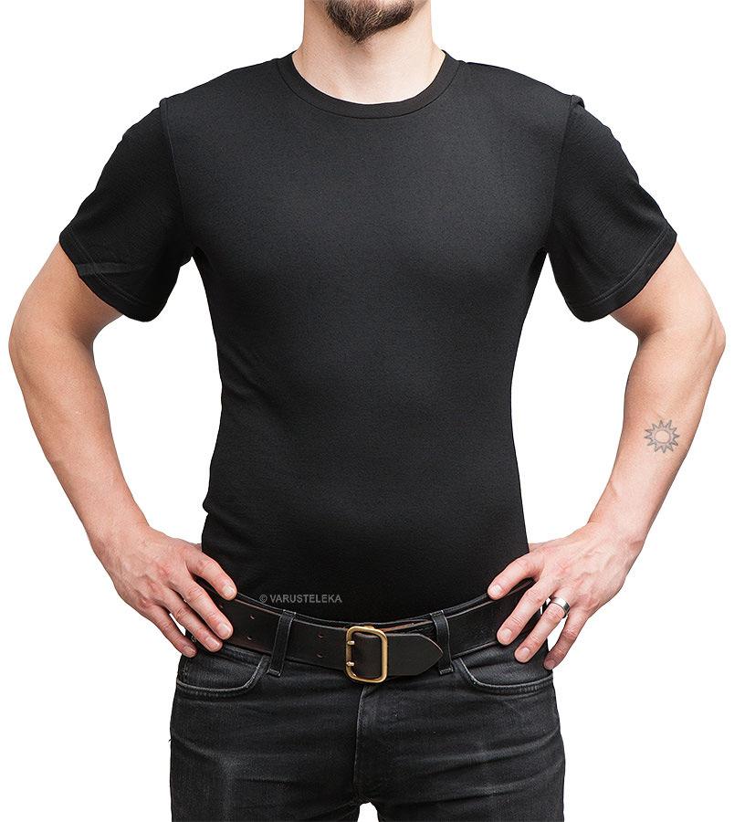 Särmä merino wool T-shirt, black