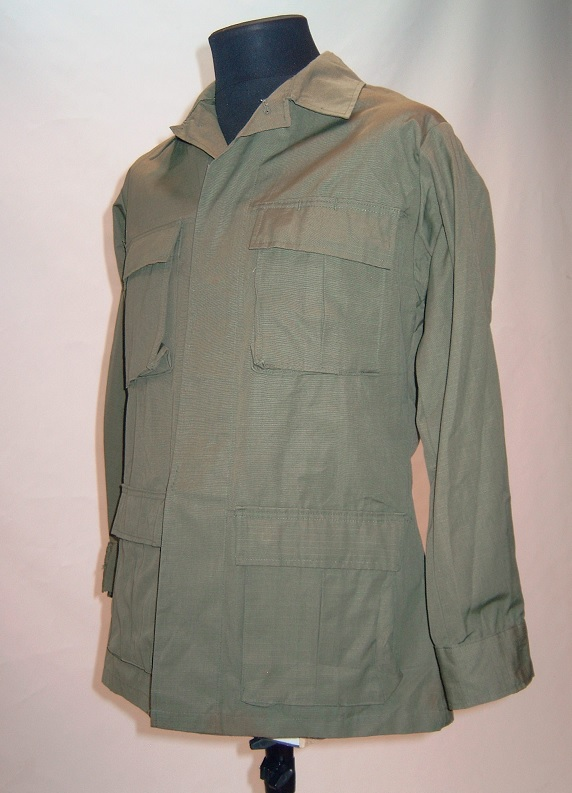 US RDF jacket, olive drab, unissued, Small Regular