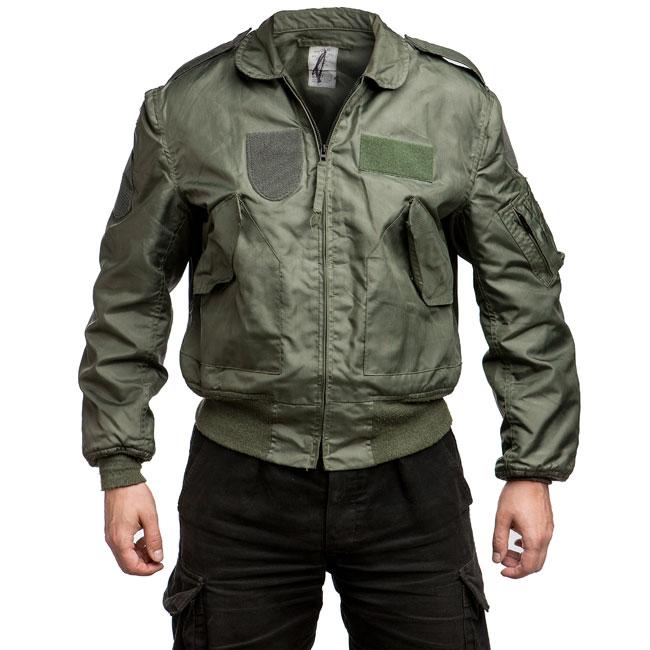 Impregnate Leather Jacket