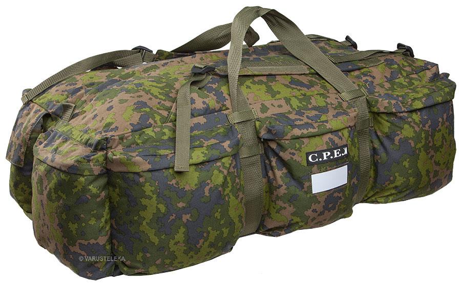CPE Duffle bag, 100L, M05 woodland camo