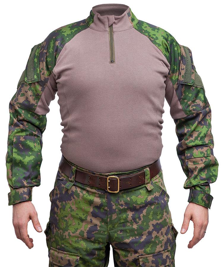 Särmä TST L4 Combat shirt, M05 woodland camo