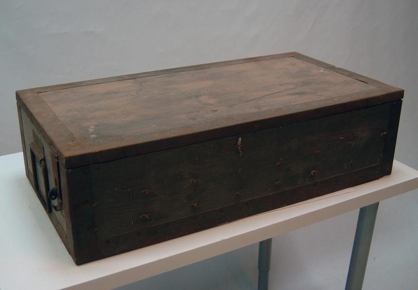 Wehrmacht artillery accessory crate, surplus