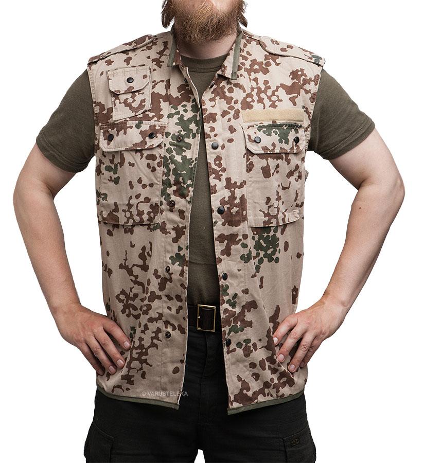 BW survival vest, Tropentarn, surplus
