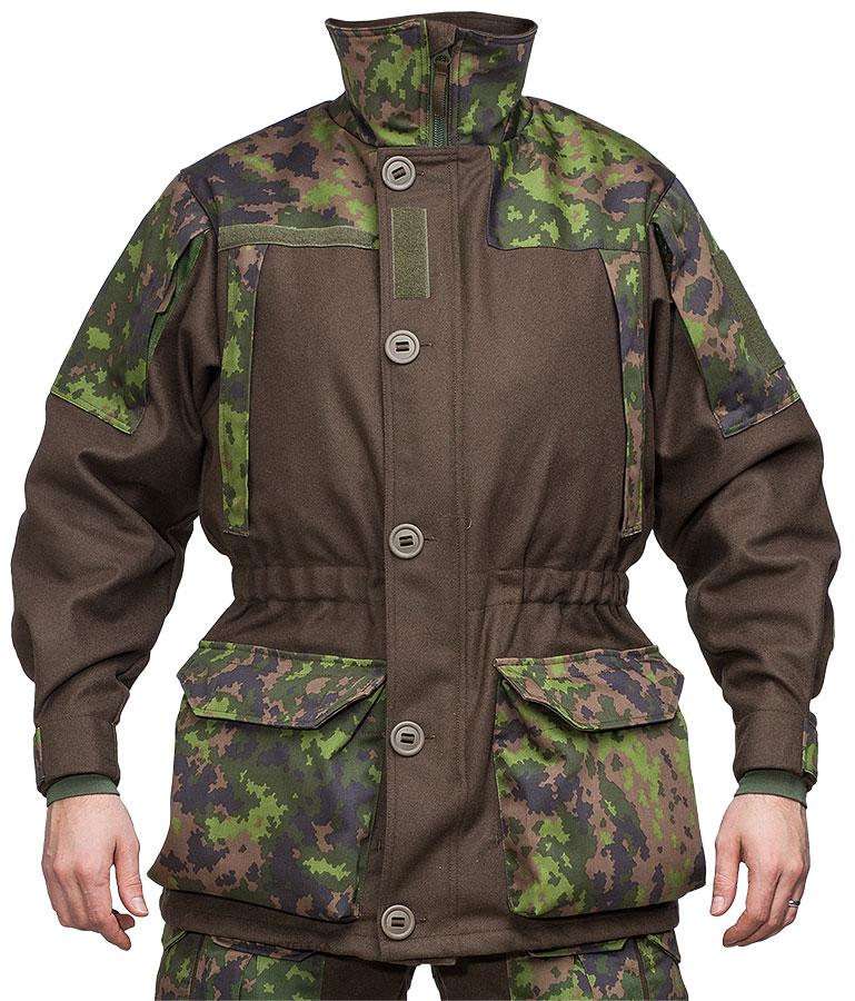 Särmä TST wool jacket, M05 woodland camo