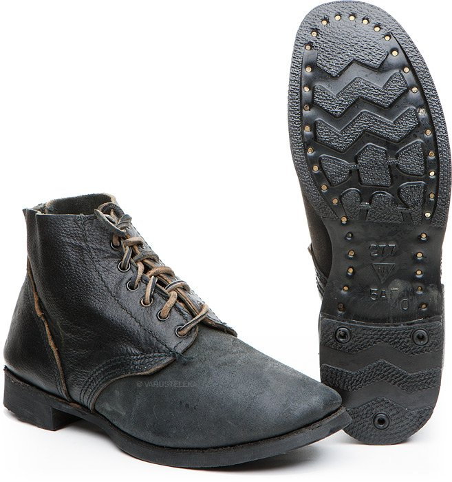 Russian navy shoes, with rubber soles, surplus