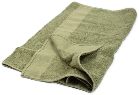 BW terry towel, surplus