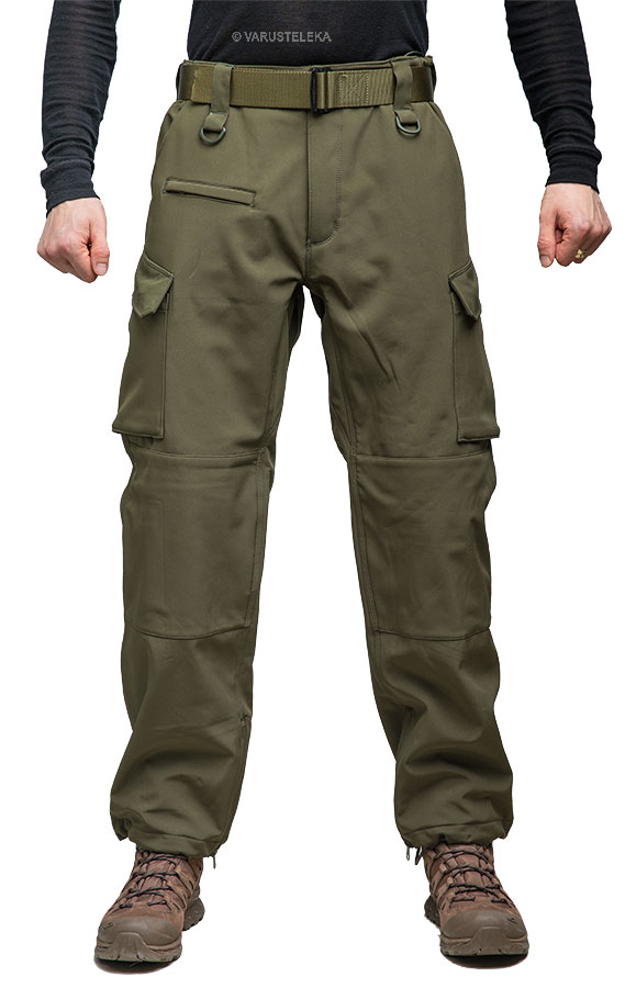 Mil-Tec Explorer Softshell Trousers, Olive Drab