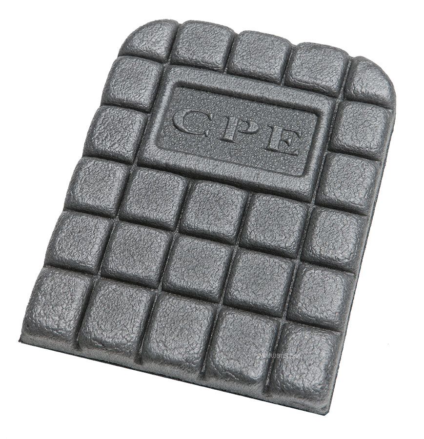 CPE knee pad insert, thick cell foam