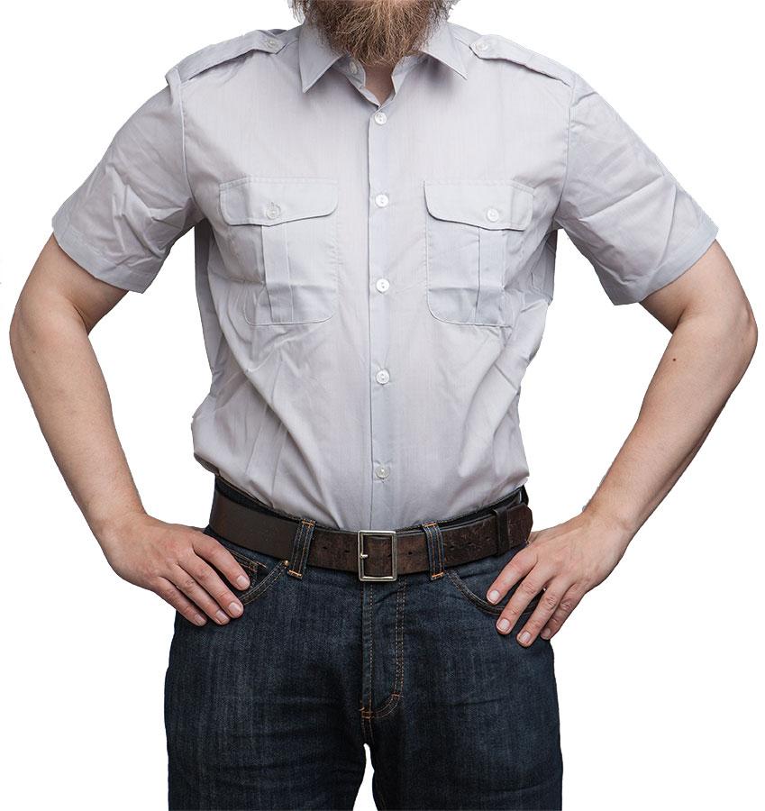 Finnish M58 dress shirt, short sleeve