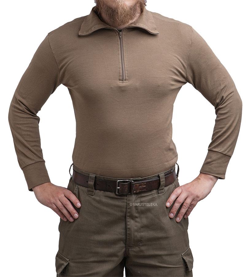 BW turtle neck shirt, brown, surplus