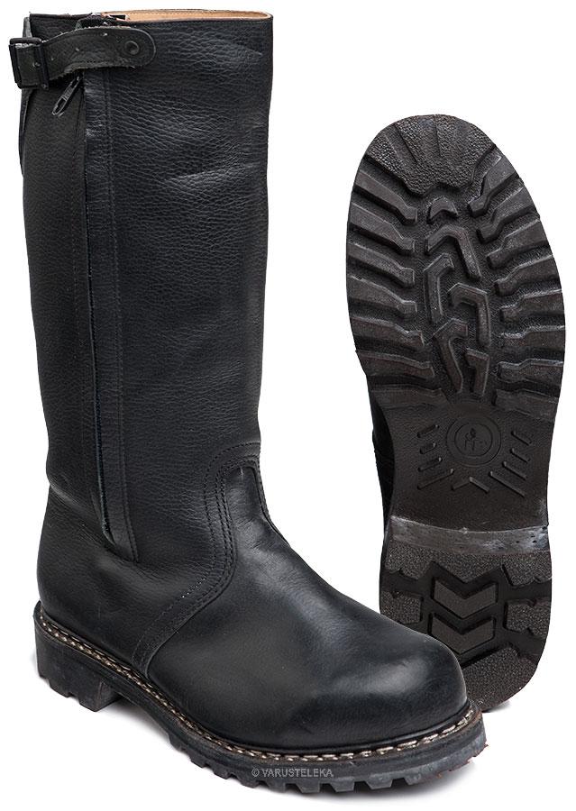 Bundesmarine winter boots with felt lining, surplus