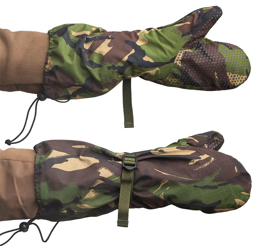 British winter mittens, DPM, surplus
