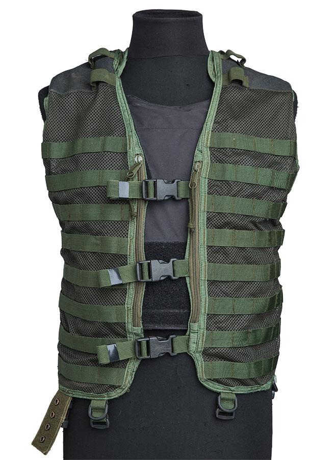 Dutch modular vest, olive, surplus