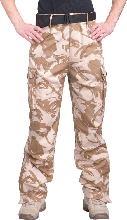 British CS95 Windproof trousers, Desert DPM, surplus