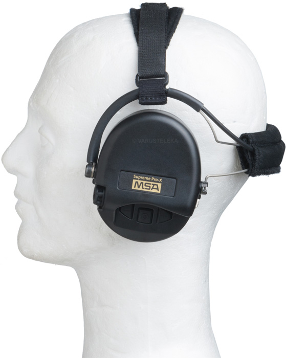 MSA Sordin Supreme Pro-X Neckband hearing protectors
