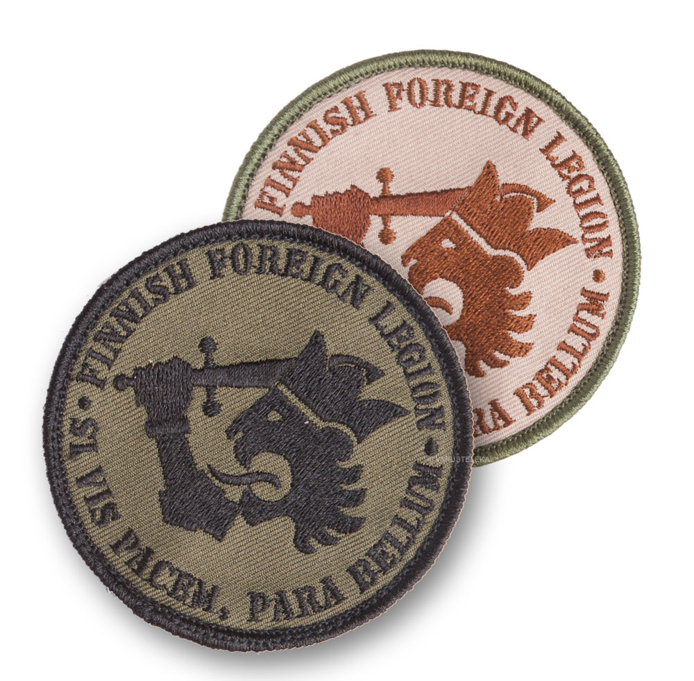 Kaaos Gear Finnish Foreign Legion velcro patch